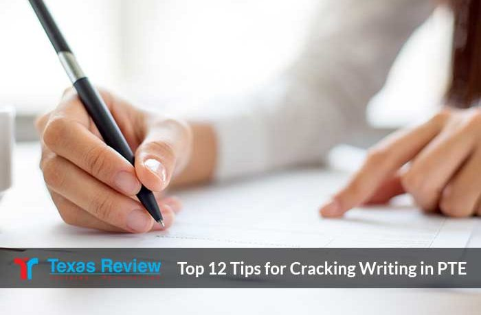 Tips For Cracking Writing In PTE
