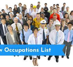 Australia New Occupation List is Added to Skilled List