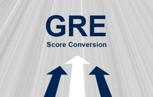 GRE scaled score to percentage conversion