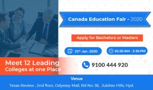 Canada Education Fair - 2020