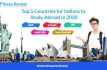 Top 5 countries for Indian students