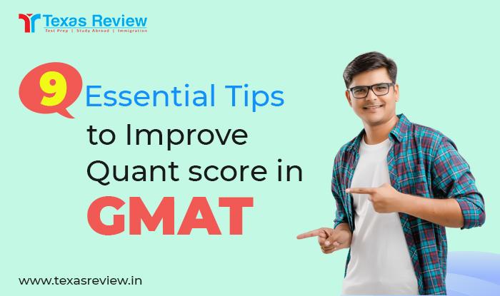 9 Essential Tips to improve quant score in GMAT
