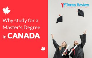 Why study for a master's degree in Canada
