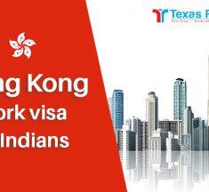 Hong Kong Work Visa for Indians