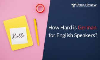 How hard is German for English speakers?