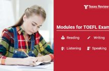 NCATEGORIZED Modules for TOEFL Exam – Reading, Writing, Listening and Speaking