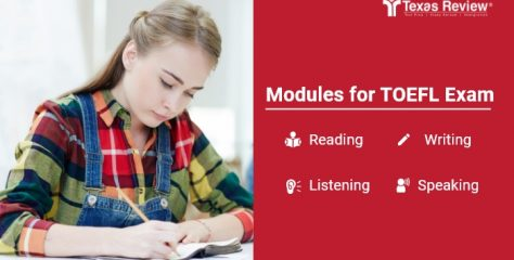 Modules for TOEFL Exam – Reading, Writing, Listening and Speaking