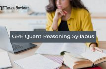 GRE Quantitative Reasoning Syllabus