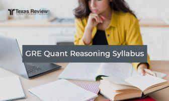 GRE Quantitative Reasoning Syllabus