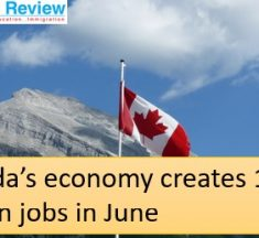 Canada economy created 1 million jobs in June